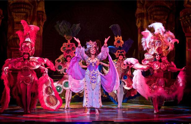 Aladdin production photo