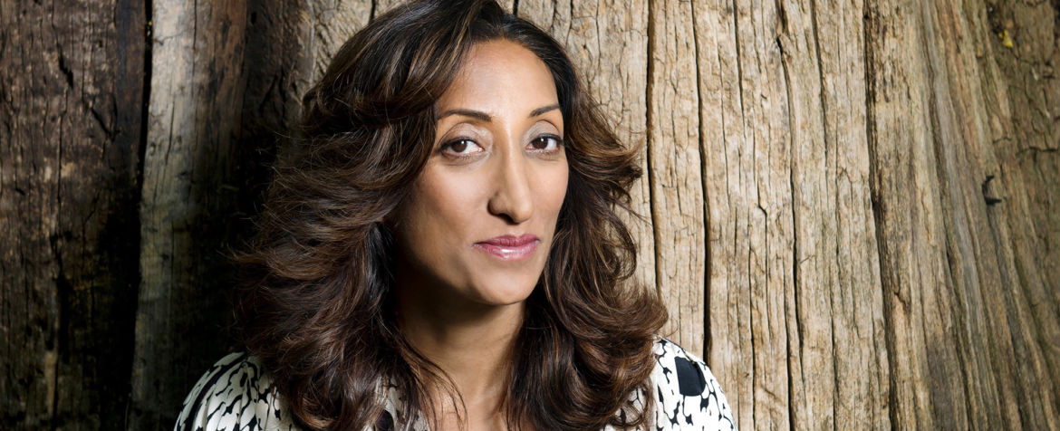 Comedian Shazia Mirza.  Photo by Linda Nylind. 16/7/2015.