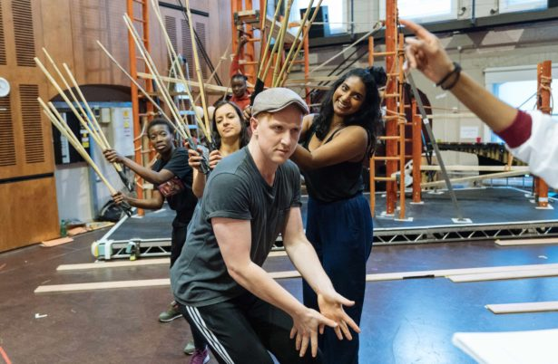 The Jungle Book rehearsals