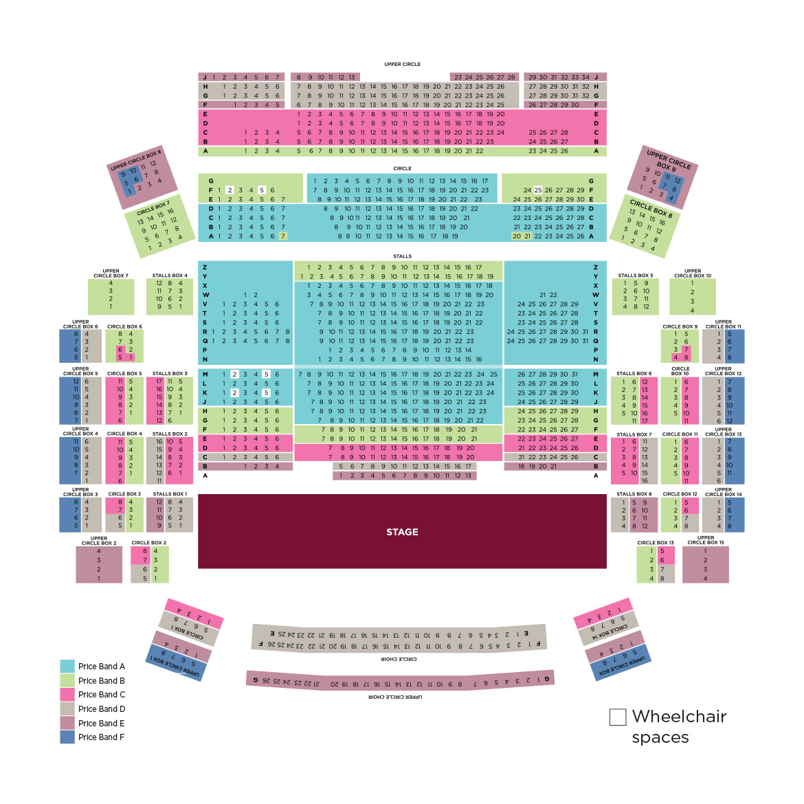 Flynn Theatre Seating Chart Brokeasshome Com