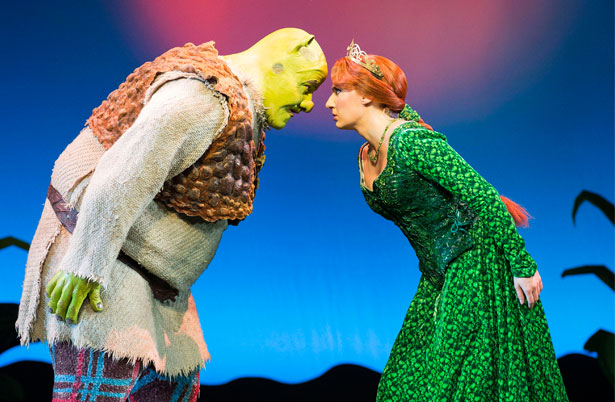 Shrek production photos