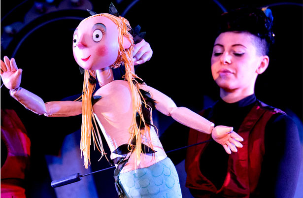 The Singing Mermaid - production photo