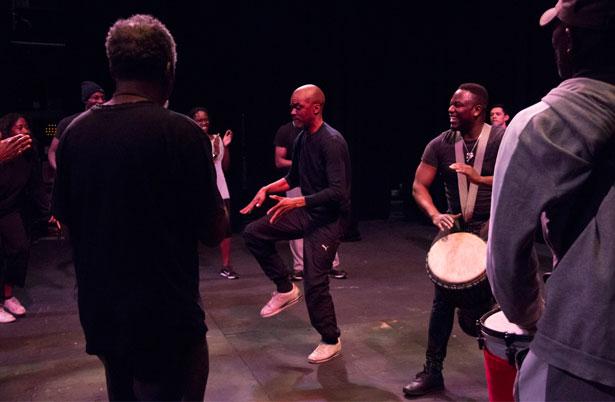 Hamlet Rehearsal photos
