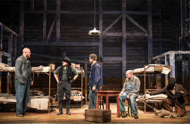 Of Mice And Men production photos