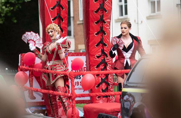 Kinky Boots Northampton Carnival - credit Graeme Braidwood