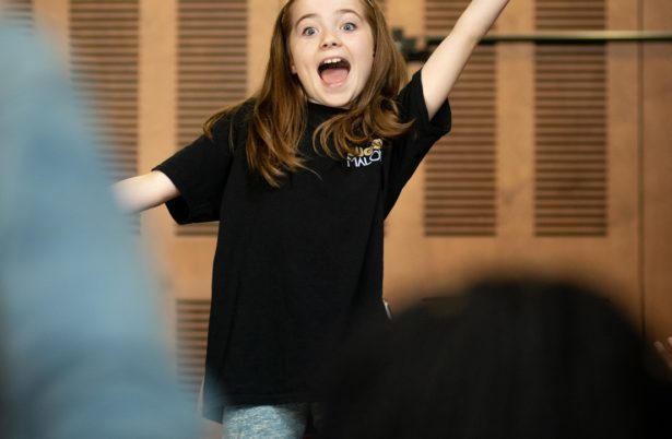 Bugsy Malone - In Rehearsals