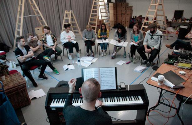 Rehearsal Photo by Bronwen Sharp