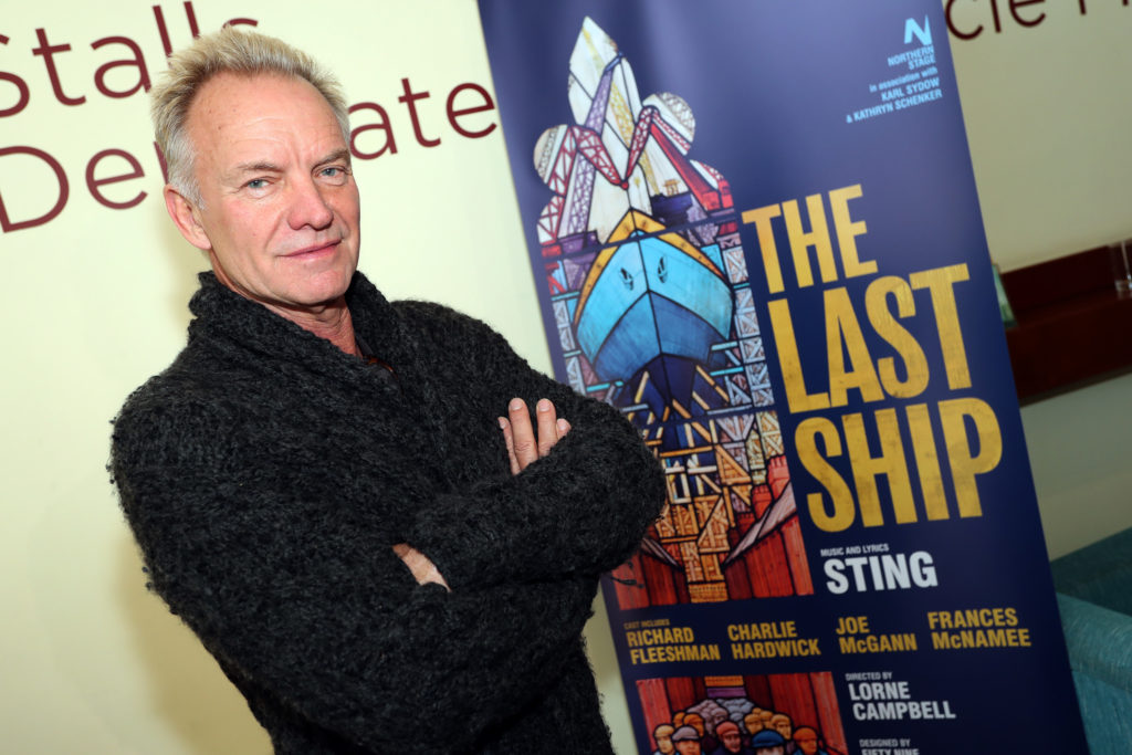 Sting - Photograph by John Roan Photography