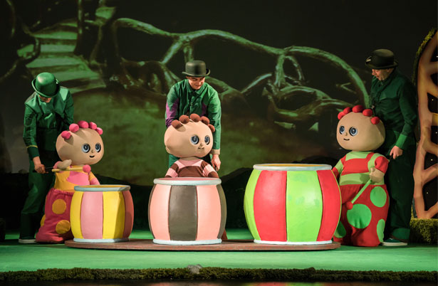 In The Night Garden - production image