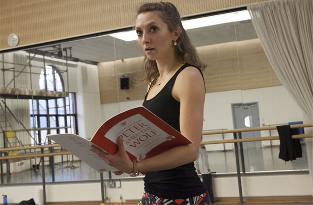 Rehearsal photography Caroline Holden.