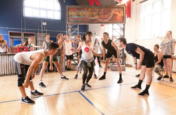 Priscilla Rehearsal Image