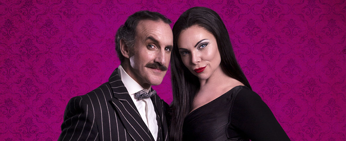 Cameron Blakely as Gomez and Sam Womack as Morticia_credit Matt Martin