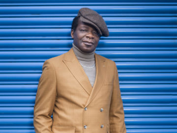 Stephen Kehinde Amos (born 3 December 1967) is a British stand-up comedian and television personality. He began his career as a compere at the Big Fish comedy clubs in South London, and has been nominated for Chortle's Best Compere Award three times in 2004, 2007 and 2008.