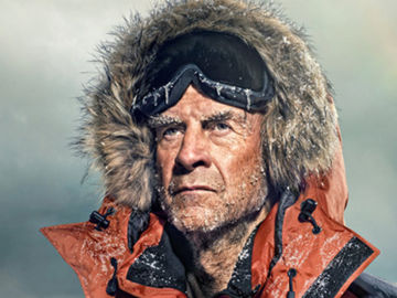 Sir Ranulph Fiennes BANNER