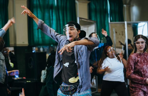 Othello Rehearsal Image