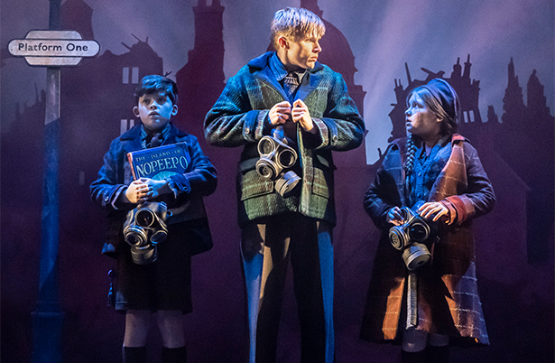 Bedknobs and Broomsticks production photos